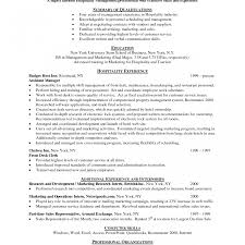 show me a resume exle amazing hotel resume sles chef sle australia identify and