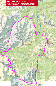 Dolomites Italy Map by The North Face Lavaredo Ultra Trail Cortina Trail Path