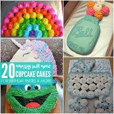 Cupcake Cake Ideas  Amazing Pull Apart Cupcake Cakes - Pull apart cupcake designs