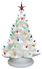 ceramic christmas tree with lights ceramic bisque ready to paint large christmas tree