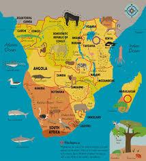 Drakensberg Mountains Map Portfolio U2013 Katrin Wiehle Illustration
