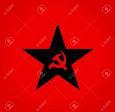 Sickle Russian Flag Soviet Symbols Red Hammer And Sickle Colorstar Stock Photo