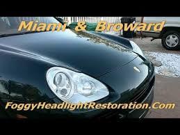 porsche cayenne headlights porsche cayenne headlight restoration miami pembroke pines