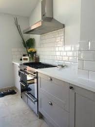 Gray Corian Countertops Design Item Kitchen Of The Week Serene Painted And Grey