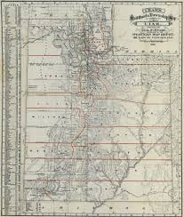 Maps Of Utah by The State Formerly Known As Deseret Worlds Revealed Geography