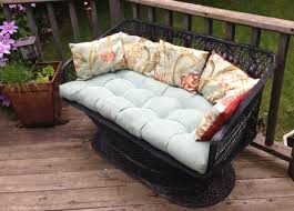 Woodard Patio Furniture - russell woodard spun fiberglass settee