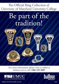 kay jewelers class rings commencement official class ring umuc