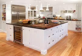 kitchen island with refrigerator awesome built in kitchen island wine fridge transitional kitchen