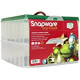snapware snap n stack square 3 tier seasonal ornament