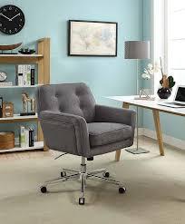 amazon com serta ashland winter river gray home office chair