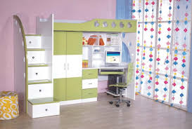 bedroom furniture sets study table and chair kids desk white