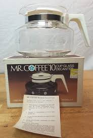 Coffee Bag Curtains 1970 u0027s mr coffee 10 cup decanter glass coffee pot never used in