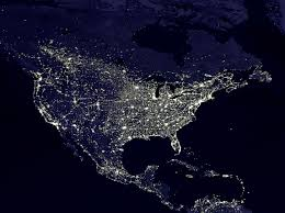 World At Night Map by Into The Night Photography Searching For Darkness Using U0027dark