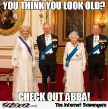 Checking Out Meme - if you think you look old check out abba funny meme pmslweb
