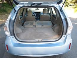 toyota prius luggage capacity green update 2012 prius v to arrive this fall the cargurus
