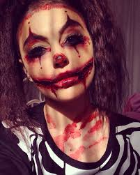 Scary Gypsy Halloween Costume Creepy Clown Halloween Makeup Instagram Jessiikaxmua Makeup