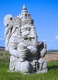 cast ganesh elephant statue ganesha hindu deity god hindu