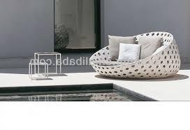 canapé lit rond canape rond exterieur concernant en extérieur en rotin rond