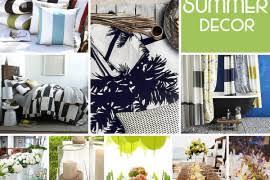 Summer Decor Simple Stripes For Summer