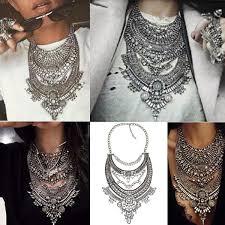 vintage crystal statement necklace images 2016 hot statement necklaces amp pendants vintage crystal maxi jpg