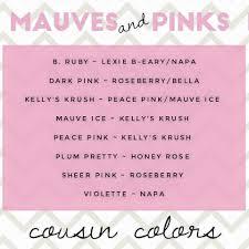 K He Pink Mauves U0026 Pinks Cousin Colors Www Senegence Com