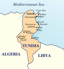 map of tunisia with cities tunisia picture 12
