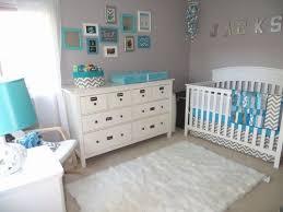 inspiration chambre bébé chambre bebe turquoise et gris idées décoration intérieure