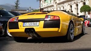 Lamborghini Murcielago V12 - very rare lamborghini murciélago 6 2l roadster in monaco youtube