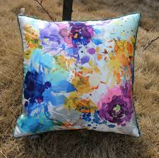colorful sofa pillows aliexpress com buy vezo home printed oil painting multicolored