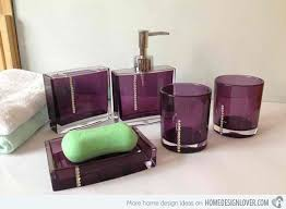 bathrooms accessories ideas purple bath accessories the 25 best purple bathroom accessories