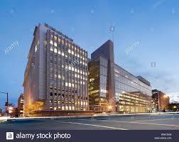 siege banque mondiale la banque mondiale siège bâtiment bâtiment principal au crépuscule