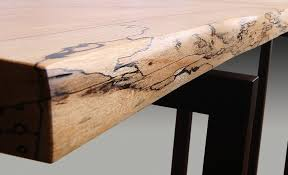Maple Table And Chairs Spalted Maple U0026 Wenge Hall Table Guild Of Vermont Furniture Makers