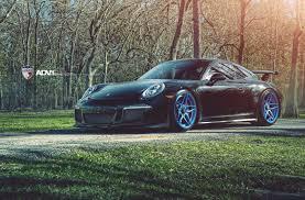stanced porsche 911 porsche 911 gt3 на дисках от adv 1 автомобили и тюнинг