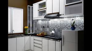membuat kitchen set minimalis sendiri desain kitchen set minimalis modern 2017 by b l e z t youtube