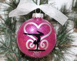 gymnastics ornament etsy