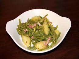 cuisiner des haricots verts surgel recette poêlée complète haricots verts pdt lardons cuisinez poêlée