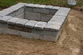 Firepit Blocks 38 Easy And Diy Pit Ideas Amazing Diy Interior Home