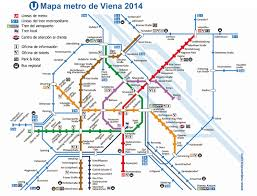 Madrid Subway Map Map Meter Of Vienna Vienna U Bahn Austria Mapa Metro