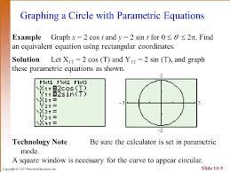 parametric equations here are some examples of trigonometric