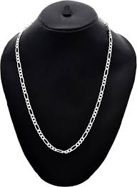 sterling silver necklace styles images Jewbang sachin tendulkar style sterling silver plated sterling jpeg