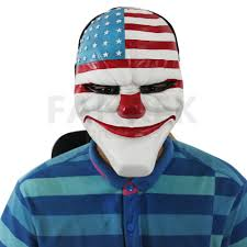 halloween mask online game payday 2 the heist dallas mask cosplay props halloween mask