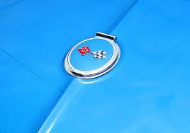 1963 corvette emblem 1963 corvette trunk emblem photograph by sven migot