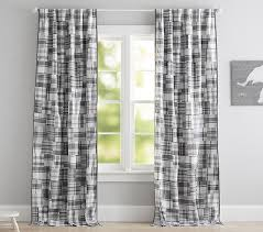 Pottery Barn Madras Curtains Madras Blackout Panel Pottery Barn