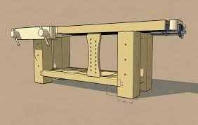 can workbench legs be too big popular woodworking magazine