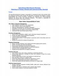 Quality Control Specialist Resume Cover Letter Widescreen Inventory Manager Job Description