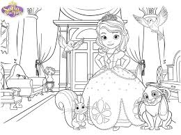 sofia coloring book pages print princess pictures sofia