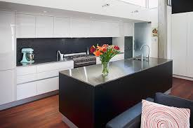 island bench kitchen designs white kitchen with black island bench search house