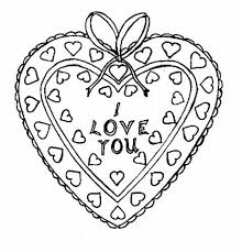 printable kids valentines coloring pages