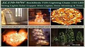 Led Wire String Lights by Solar String Lights Oak Leaf 120 Leds Outdoor Solar Powered Led