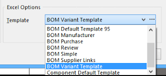 Bom Template Excel Bill Of Materials Bom Documentation For Altium Products